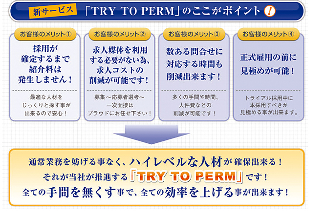 Try to perm ここがポイント!